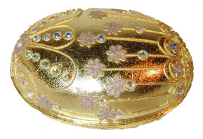 "Christian Jewelry Cloisonne, ""Millennium Collection Vanity Boxes"" available in heart, round, oval or square design."